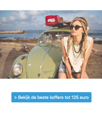 Koffer kopen tot 125 euro